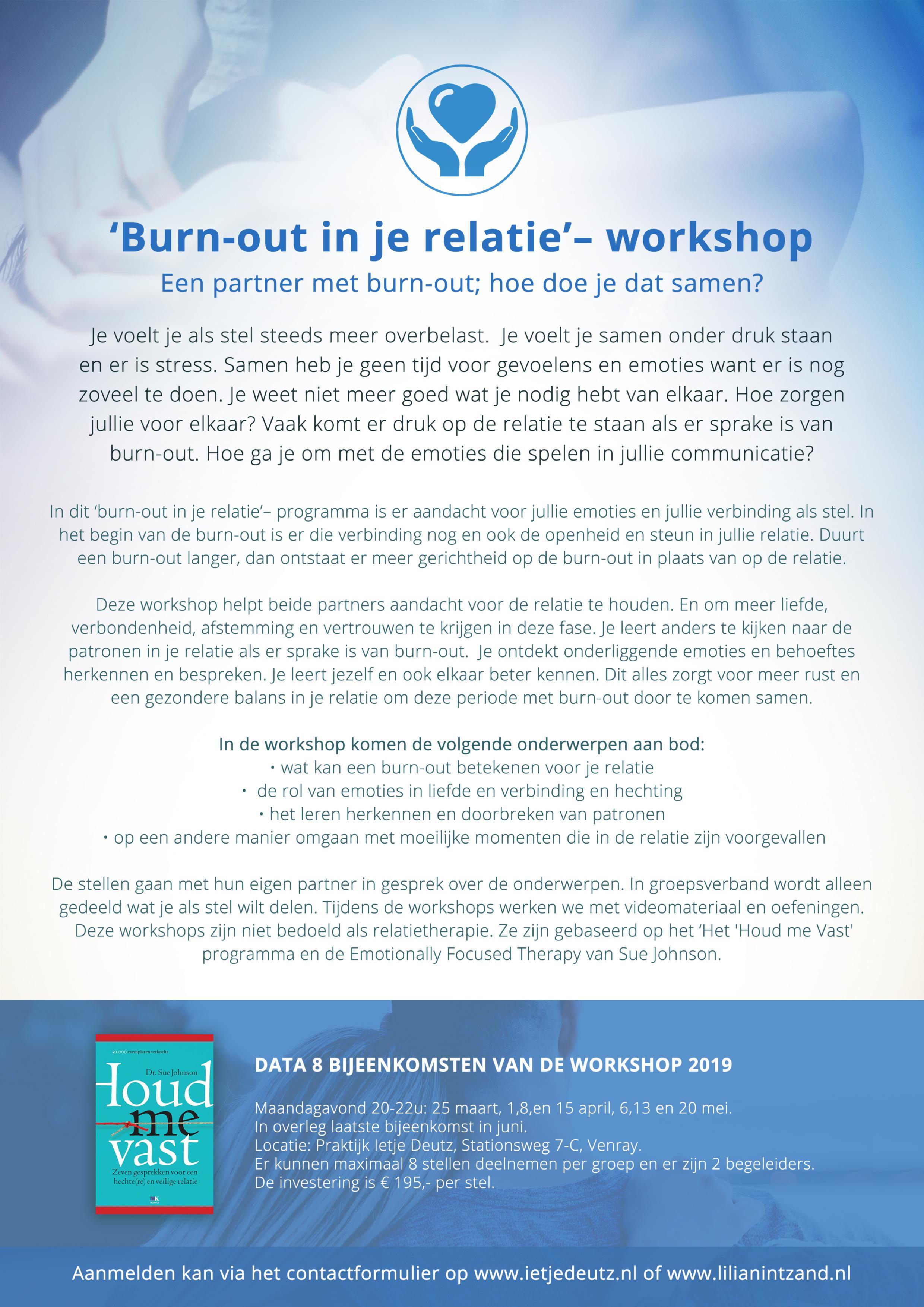 Burn-out workshop